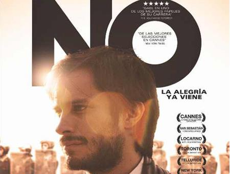 "Mexican actor Gael Garcia Bernal stars in ""No."""
