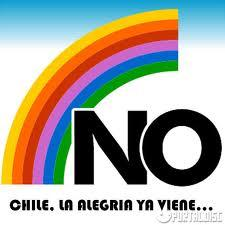The logo of a successful campaign to defeat Pinochet in his one-man presidential plebiscite.