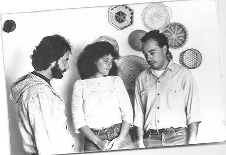The translators--Fernando, Lezak and Sammy.