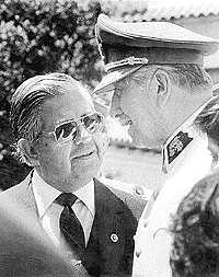 Manuel Contreras with General Augusto Pinochet